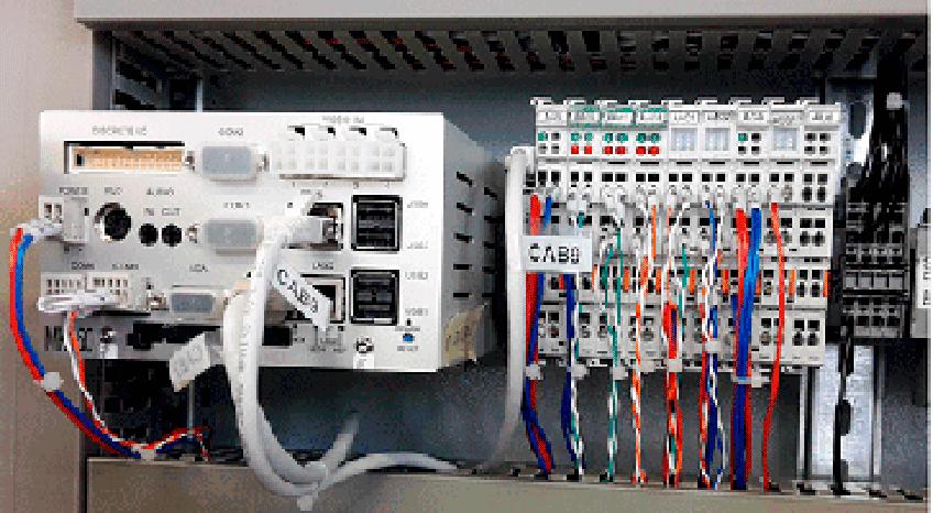 Элементы щита автоматики с контроллером Fastwel МК-150