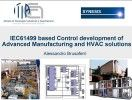 IEC6499 based Control development of Advanced Manufacturing and HVAC solutions